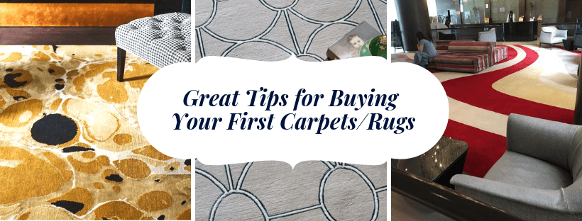 Great Tips for Buying Your First Carpets/Rugs